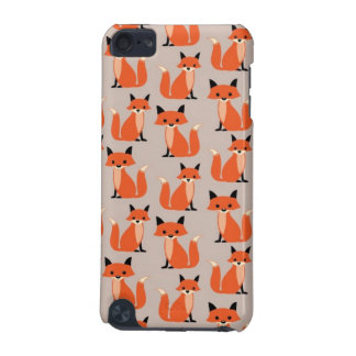 Woodland fox cute retro whimsical hipster foxes iPod touch (5th generation) cover