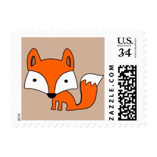 Woodland Fox Stamp