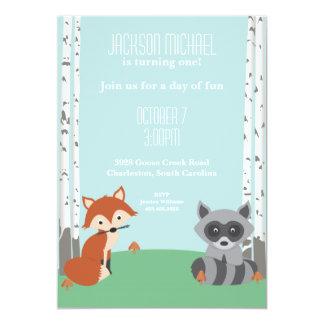 Woodland Friends Card