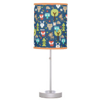 Woodland Friends Nursery Desk Lamp
