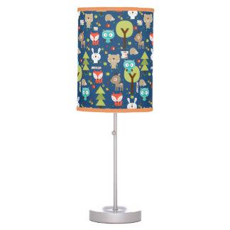Woodland Friends Nursery Desk Lamp