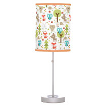 Woodland Friends Nursery Table Lamp