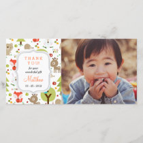 Woodland Friends Photo Any Occasion Thank you