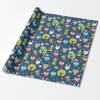 Woodland Friends Wrapping Paper