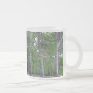 Woodland Frosted Glass Coffee Mug