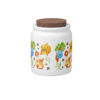 Woodland Fun Candy Jar