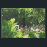 "Woodland Garden iPad Pro Case<br><div class=""desc"">WOODLAND GARDEN  Beautiful,  sunlit,  woodland garden reminiscent of a Monet painting.</div>"