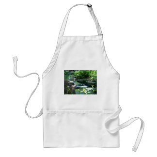 Woodland Garden Stream Adult Apron
