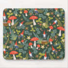Woodland Gnomes Mouse Pad