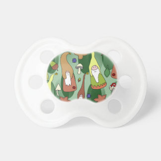Woodland Gnomes Pacifier