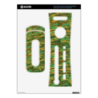 Woodland Gunouflage Skin Xbox 360 Decals