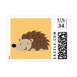 Woodland Hedgehog Stamp