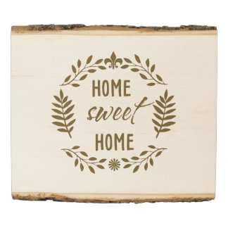 Woodland Home Sweet Home Sign