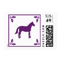 Woodland Horse Postage by Blue Magpie Invitations