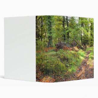 Woodland in October Binder