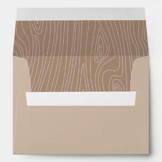 Woodland Invitation Envelope