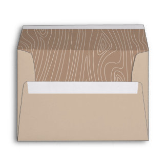 Woodland Invitation Envelope