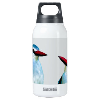 Woodland Kingfisher birds 10 Oz Insulated SIGG Thermos Water Bottle