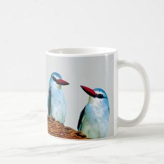 Woodland Kingfisher birds Coffee Mug
