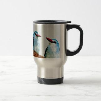 Woodland Kingfisher birds Travel Mug
