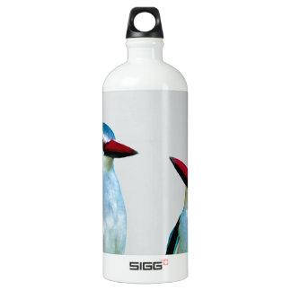 Woodland Kingfisher birds Water Bottle
