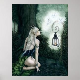 Woodland Magic Poster