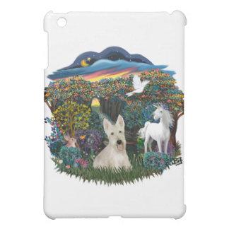 Woodland Magic - Wheaten Scottish Terrier iPad Mini Case