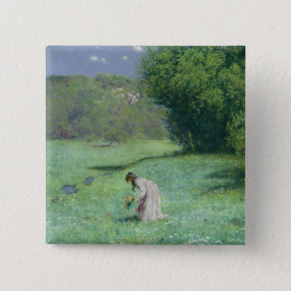 Woodland Meadow, 1876 Button