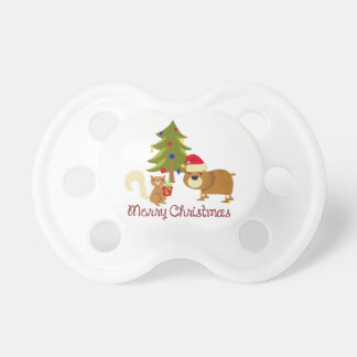Woodland Merry Christmas Pacifier