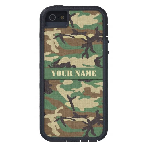 Woodland Military Camo iPhone 5 Xtreme Case iPhone 5 Cases