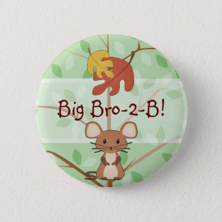 Woodland Mouse Button