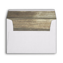 Woodland Nature Wood Watercolor Rustic Envelope