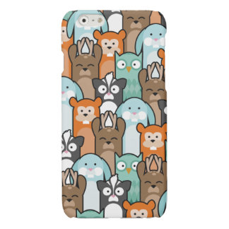 Woodland Pals Glossy iPhone 6 Case