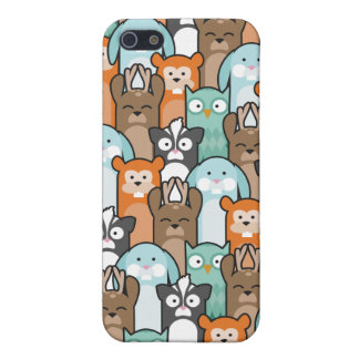 Woodland Pals iPhone SE/5/5s Cover