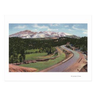 Woodland Park, Colorado Postcard