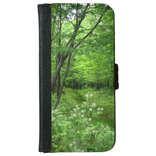 Woodland Path iPhone 6 Wallet Case