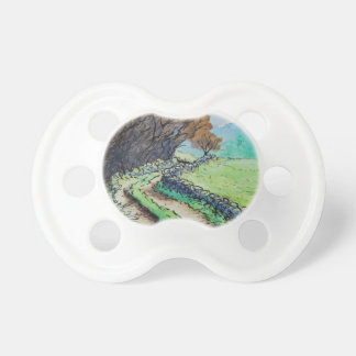 woodland path landscape drawing baby pacifiers