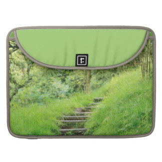 Woodland Path So Green Sleeve For MacBook Pro