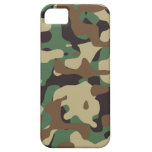 Woodland Pattern Camo iPhone 5/5S Cover