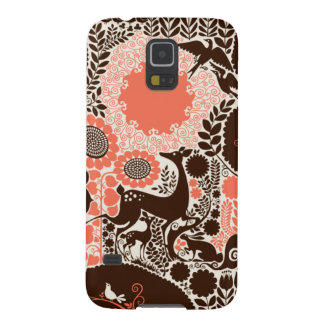 Woodland Pattern Galaxy S5 Case