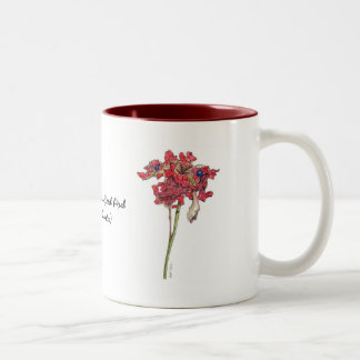 Woodland Peony Seed Pod Coffee Mug