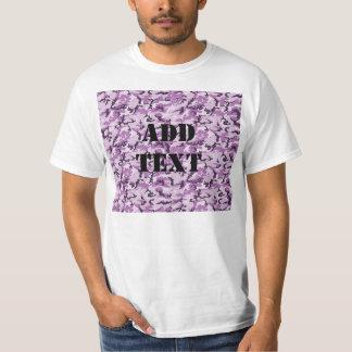 Woodland Pink/Purple Camouflage Tee Shirt