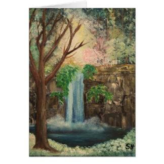 woodland pool card