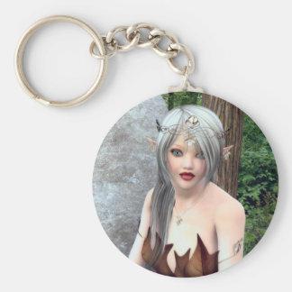 Woodland Princess Fantasy Keychain