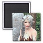 Woodland Princess Fantasy Magnet
