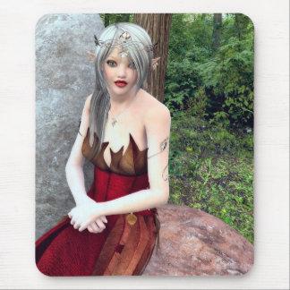 Woodland Princess Fantasy Mousepad