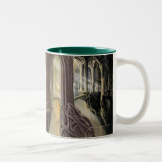 Woodland Realm Concept 2 Two-Tone Coffee Mug