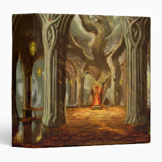Woodland Realm Throne Room Concept 3 Ring Binder
