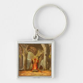 Woodland Realm Throne Room Concept Keychain