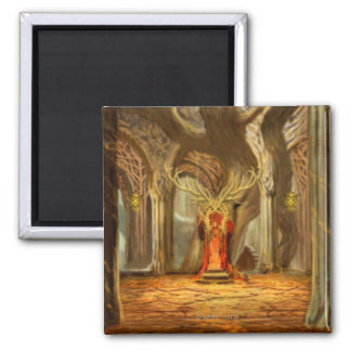 Woodland Realm Throne Room Concept Magnet
